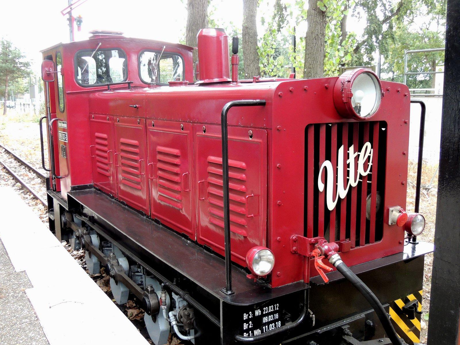 Die Parkeisenbahn in der Wuhlheide - Lokomotive Ute