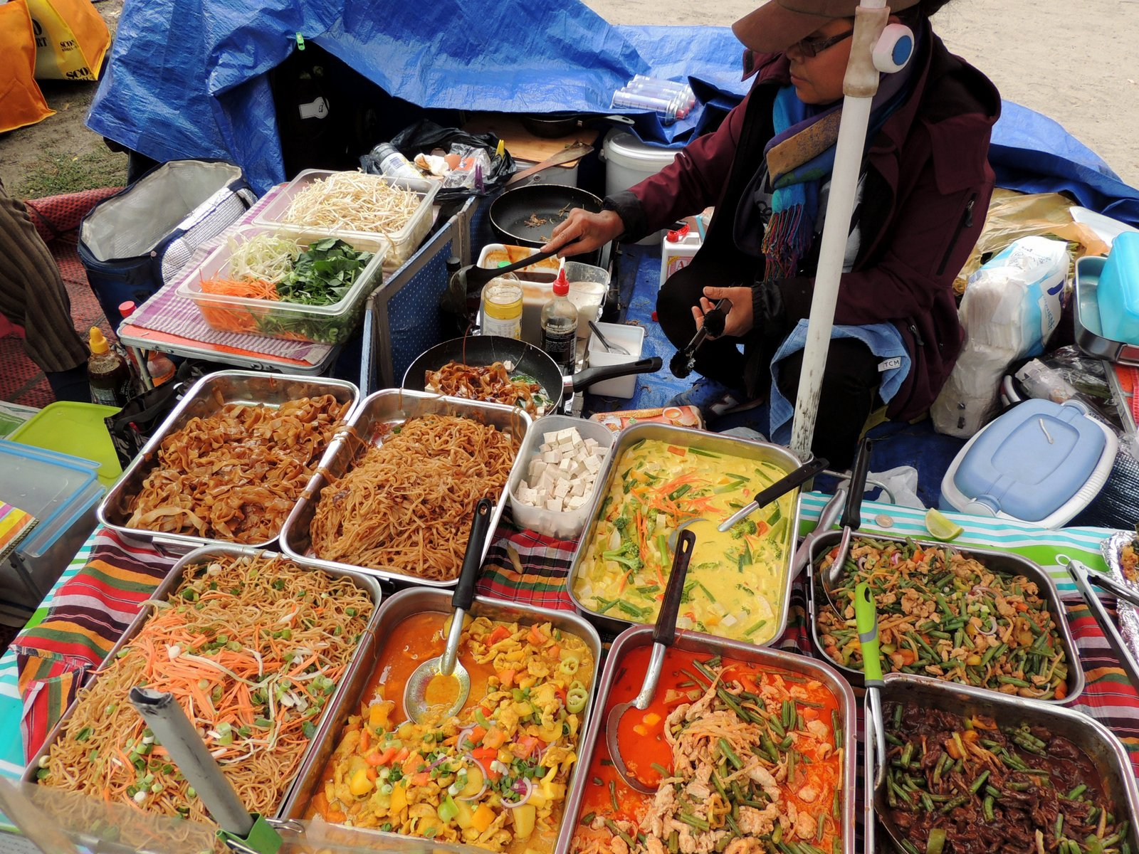Thai Street Food im Preußenpark Berlin