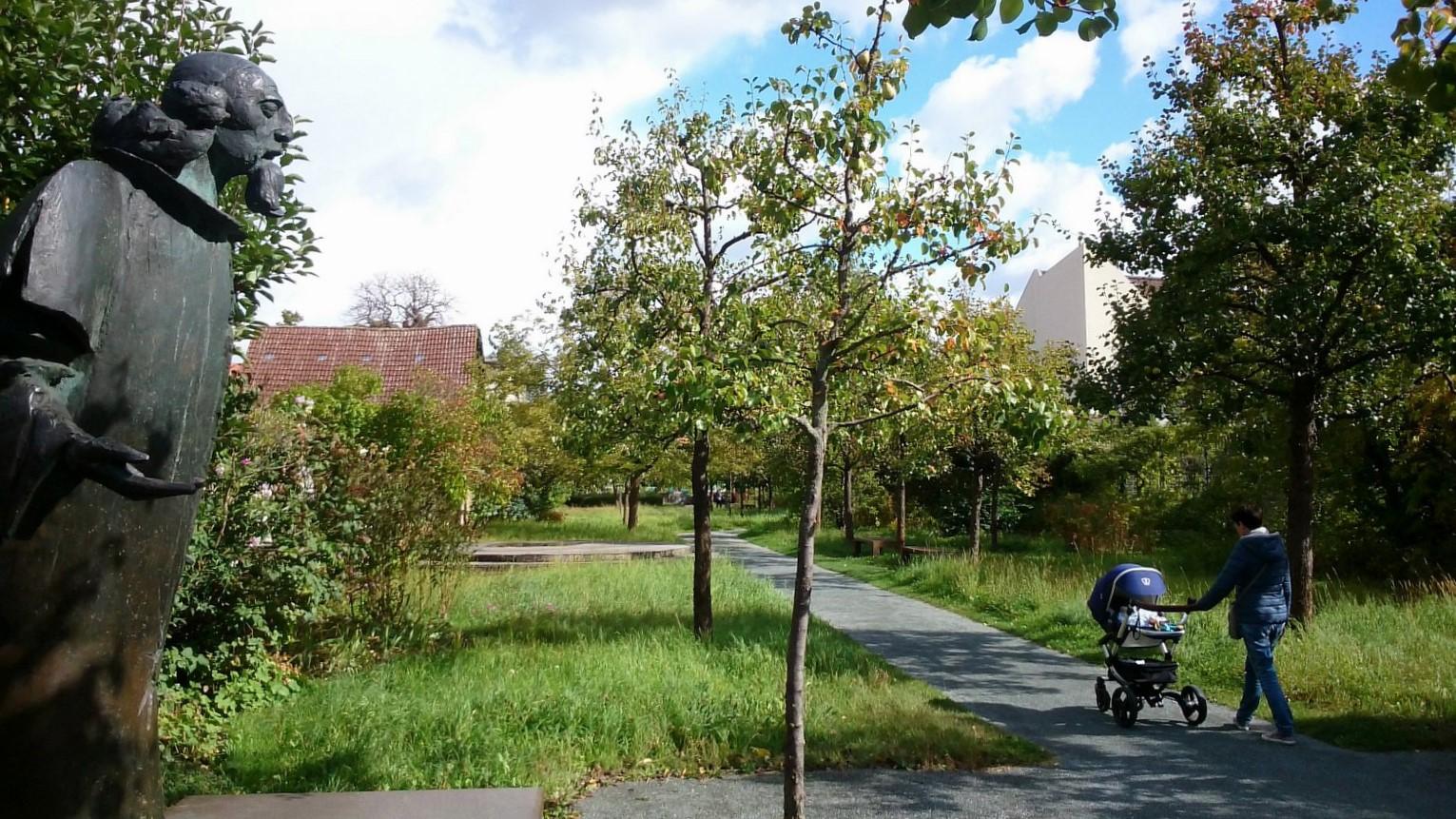 Comenius Garten in Neukölln
