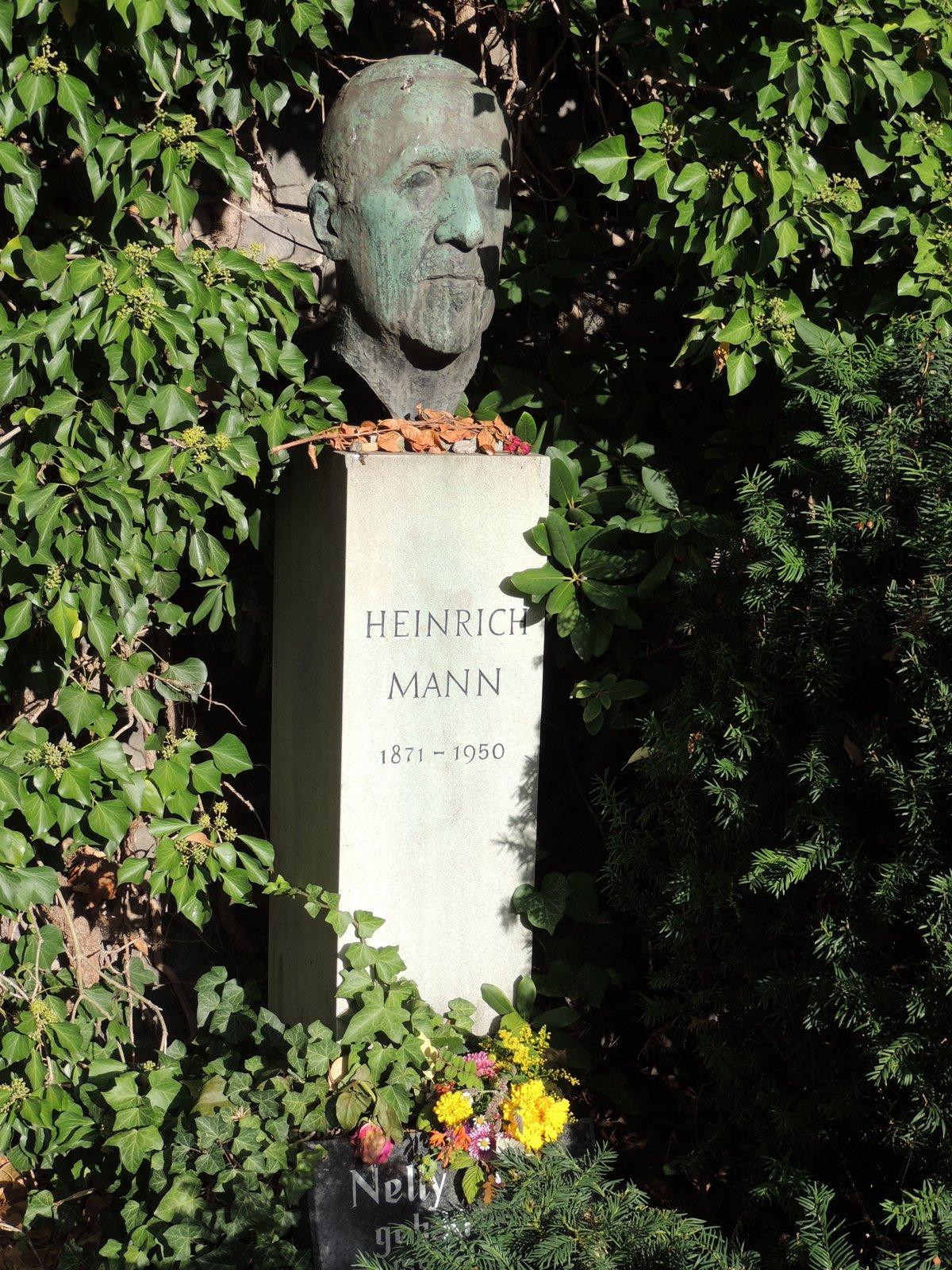 Dorotheenstädtischer Friedhof Berlin-Mitte - Heinrich Mann