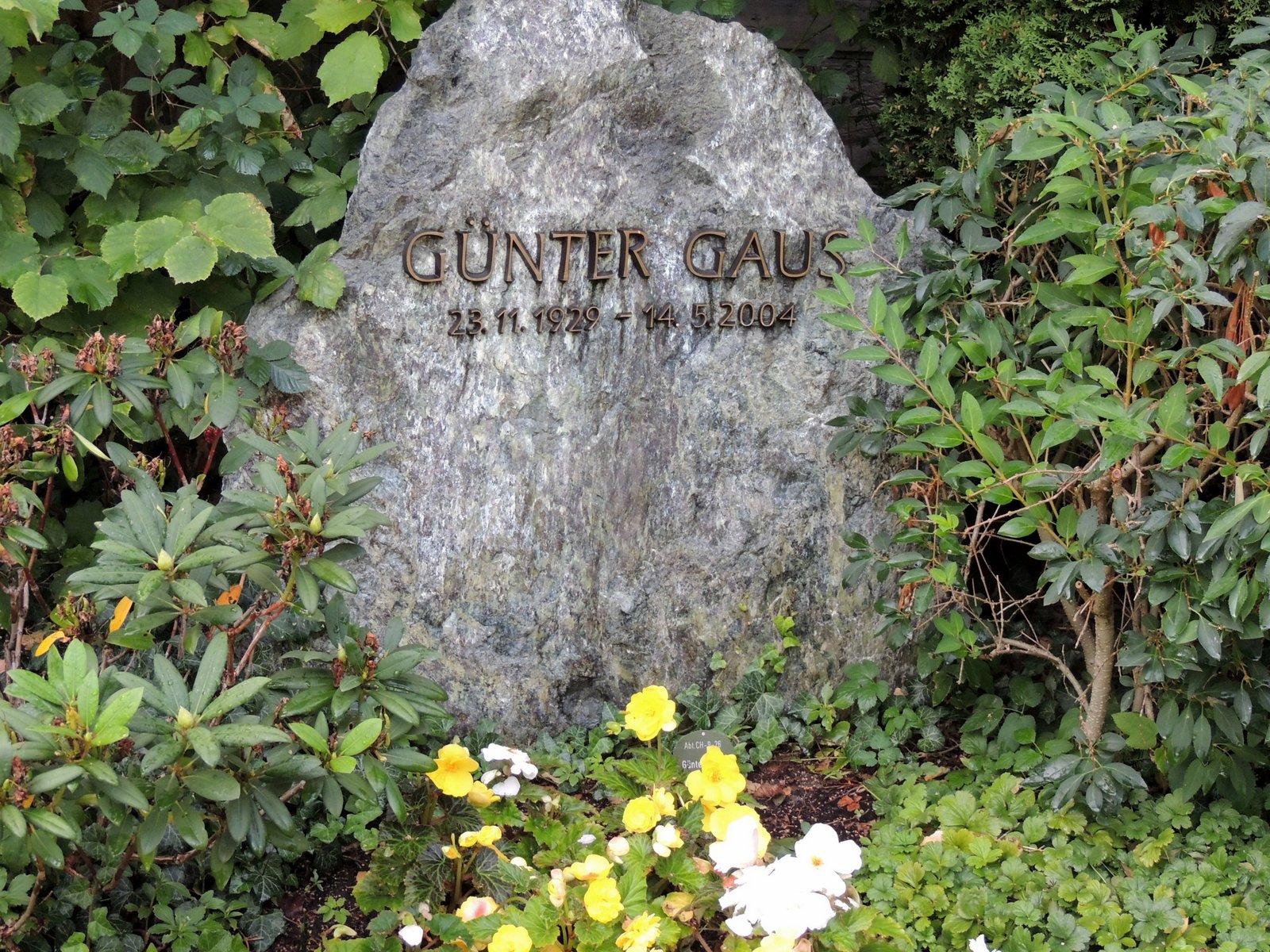 Dorotheenstädtischer Friedhof Berlin-Mitte - Günter Gaus