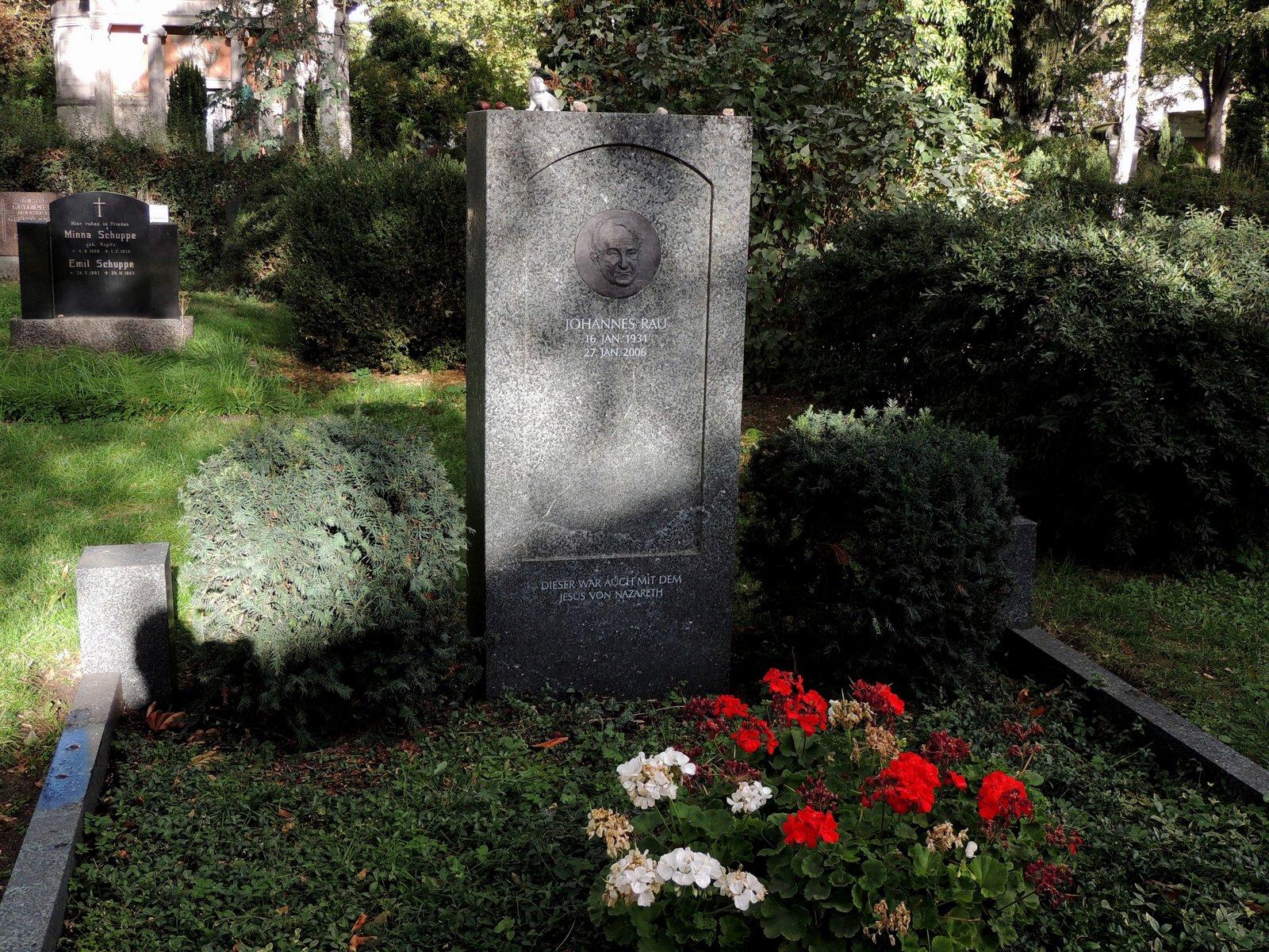 Dorotheenstädtischer Friedhof Berlin-Mitte - Johannes Rau