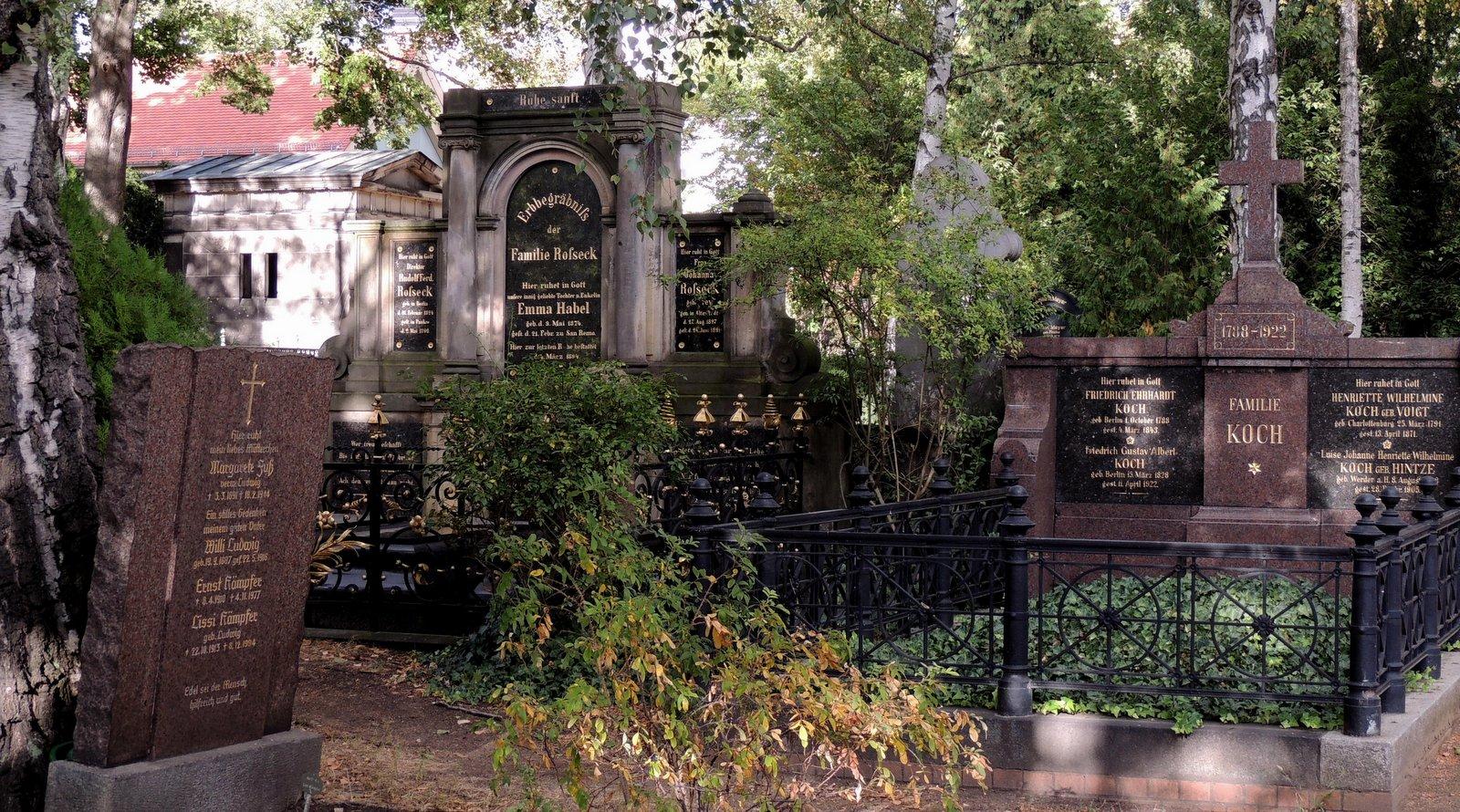 Dorotheenstädtischer Friedhof Berlin-Mitte