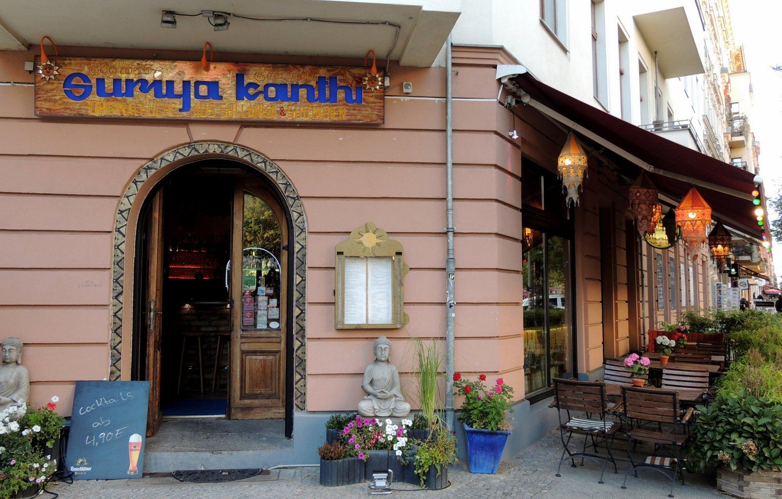 Restaurant Suriya Kanthi, Knaackstraße 4