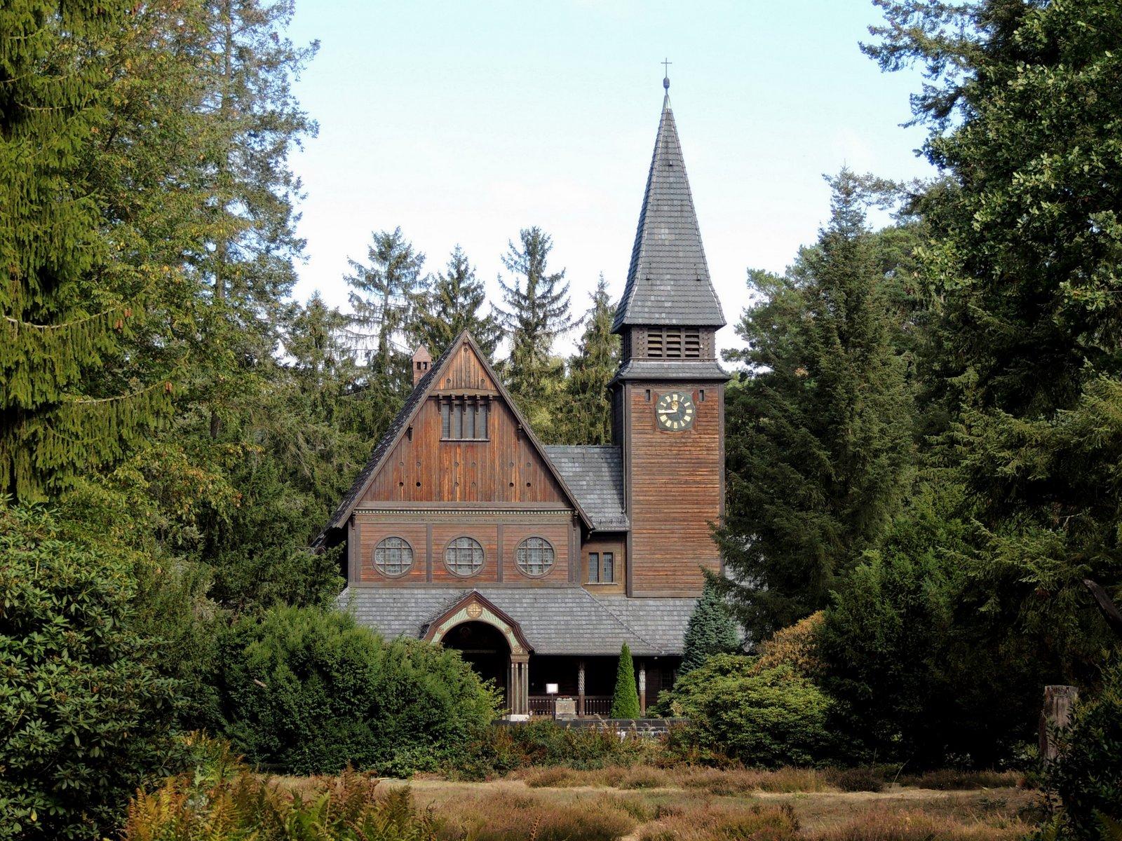 Stabkirche im Waldfriedhof Stahnsdorf
