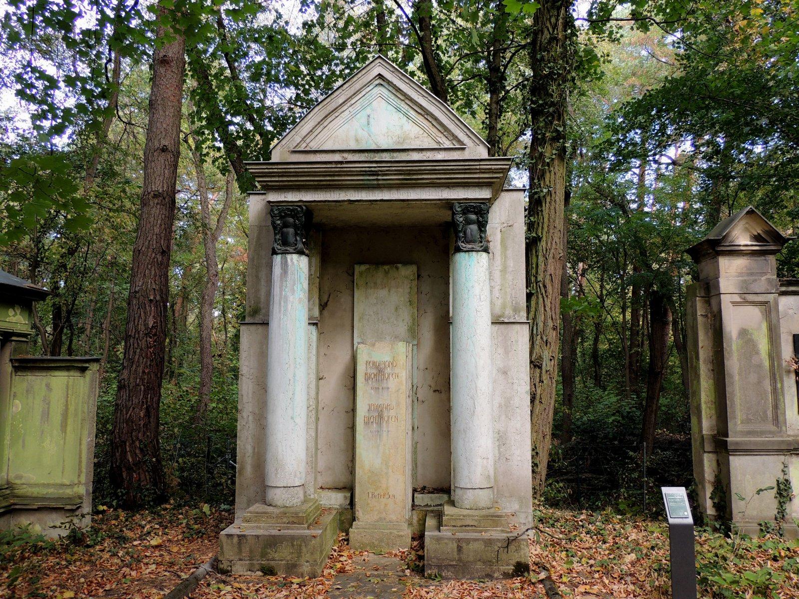 Waldfriedhof Stahnsdorf - Ferdinand von Richthofen
