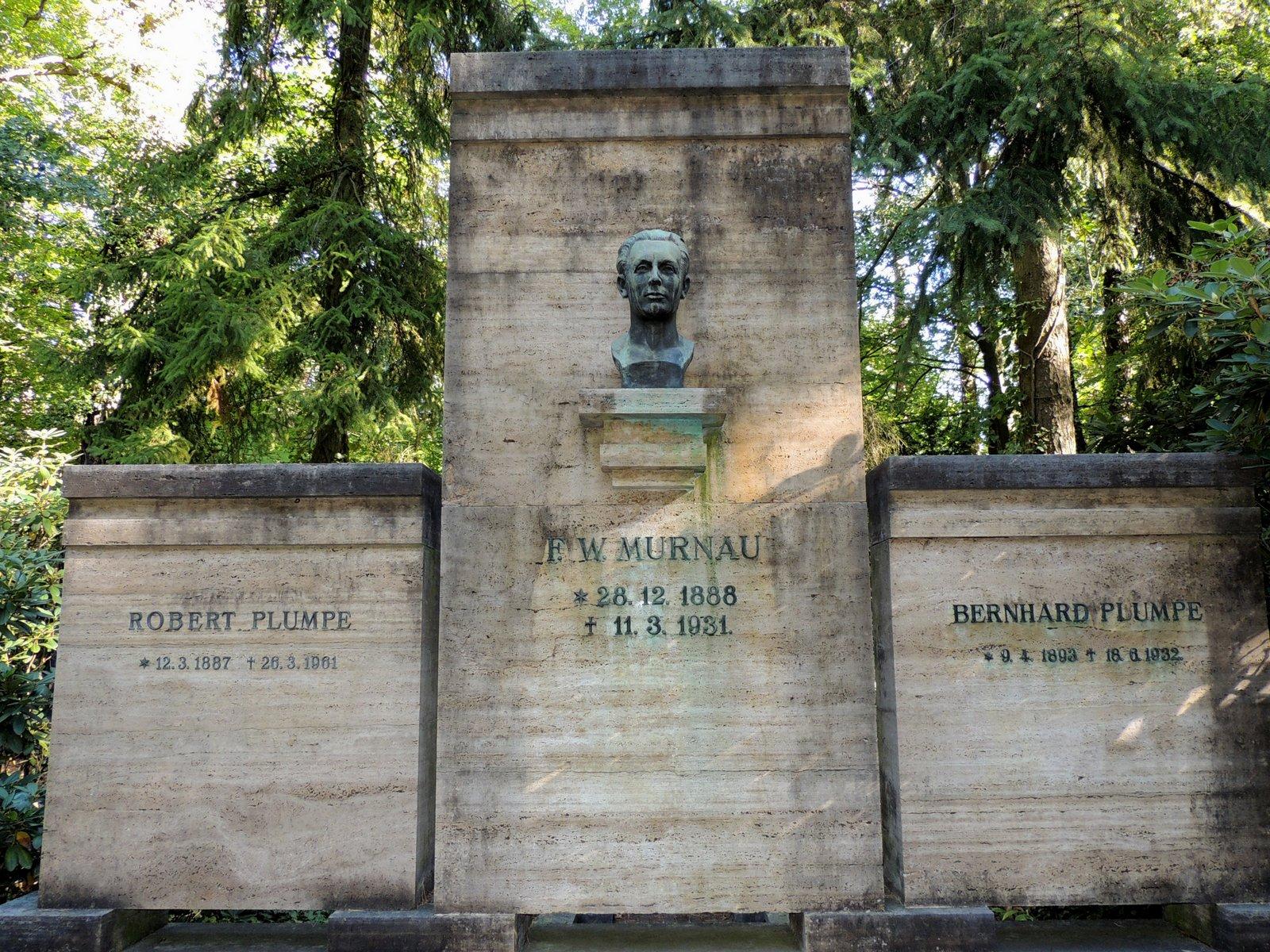 Waldfriedhof Stahnsdorf - F.W. Murnau