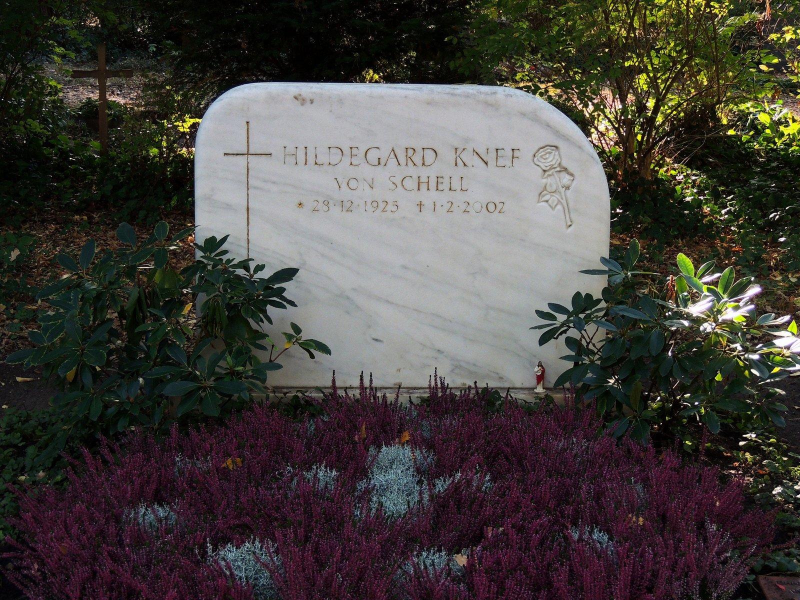 Waldfriedhof Zehlendorf - Hildegard Knef