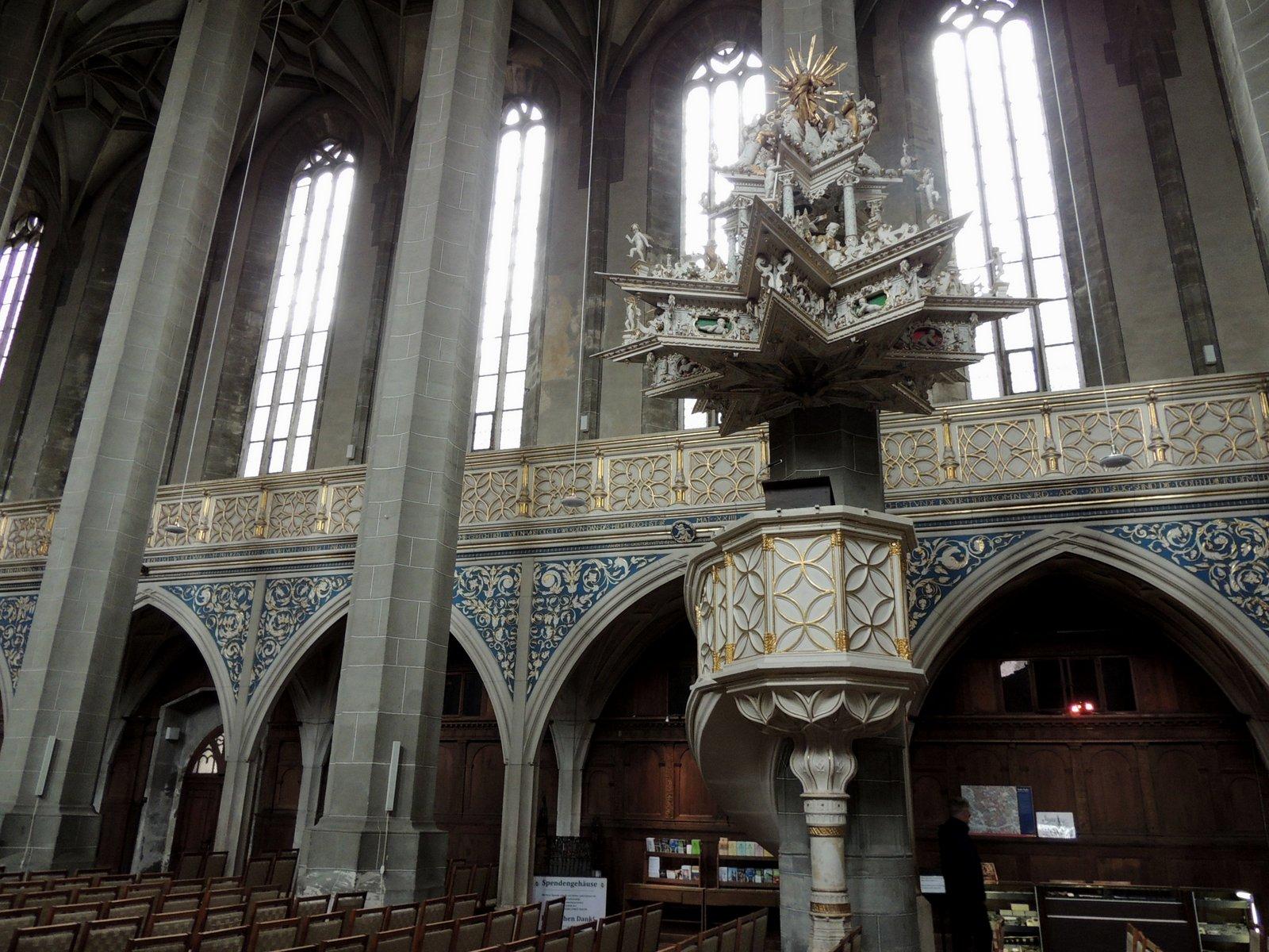 Marktkirche Halle an der Saale - Kanzel