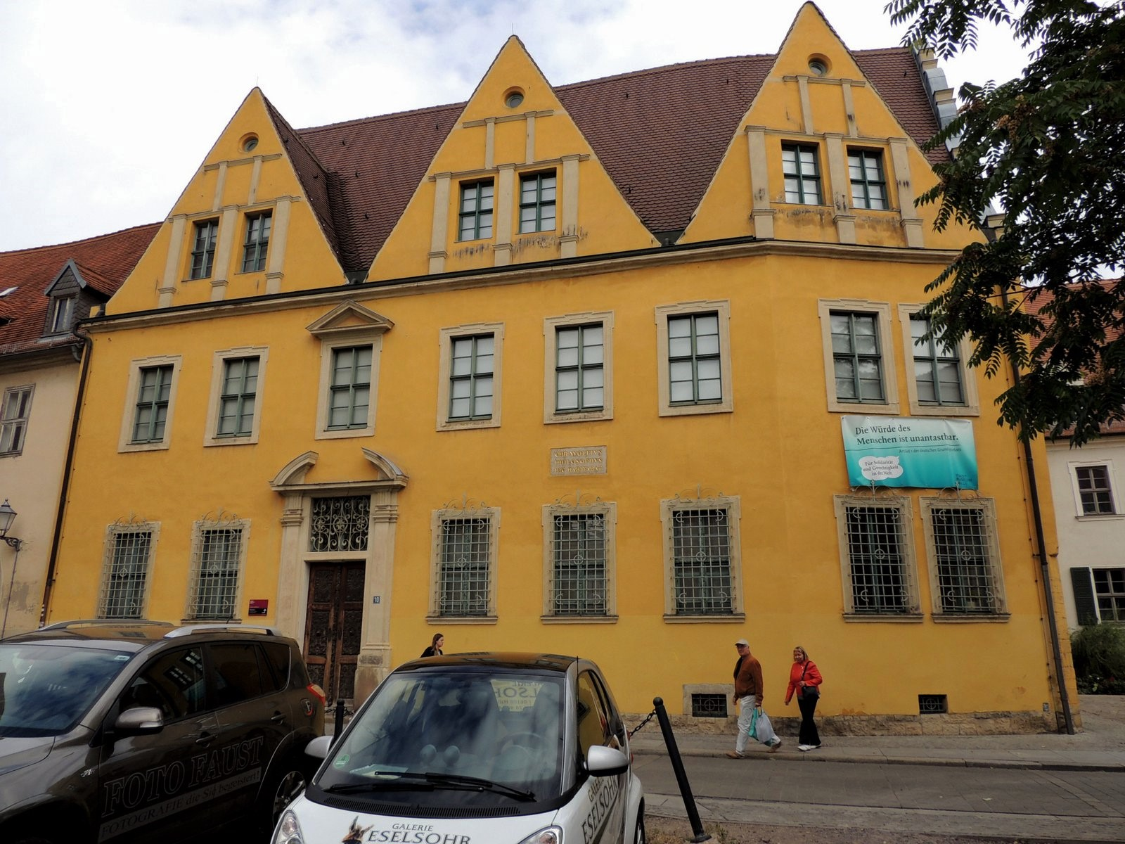 "Das Stadtmuseum im ""Christian-Wolff-Haus"""