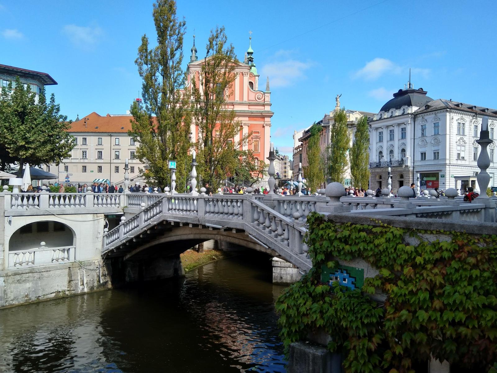Ljubljana - Drei Brücken