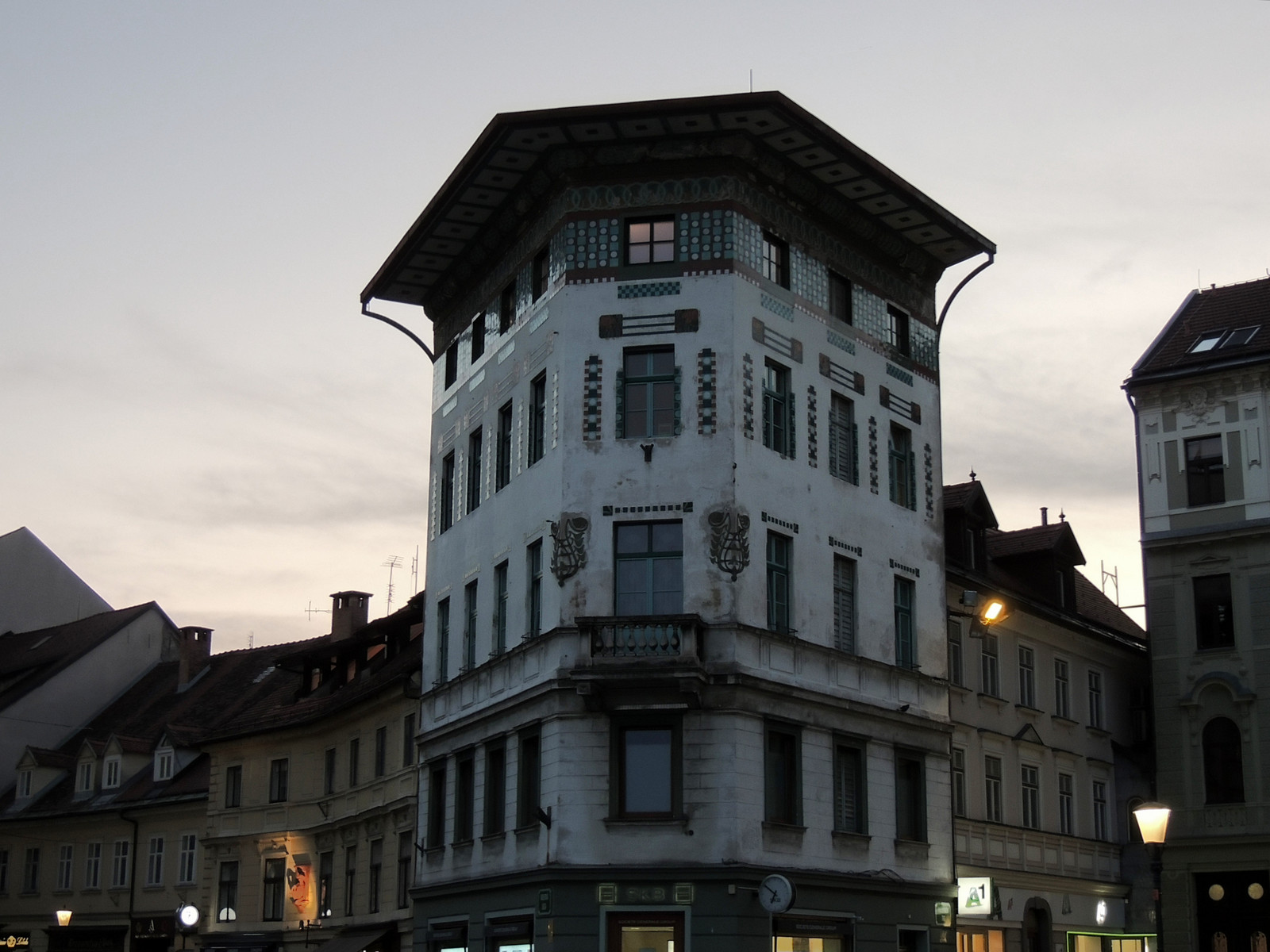 Ljubljana - Hauptmannhaus