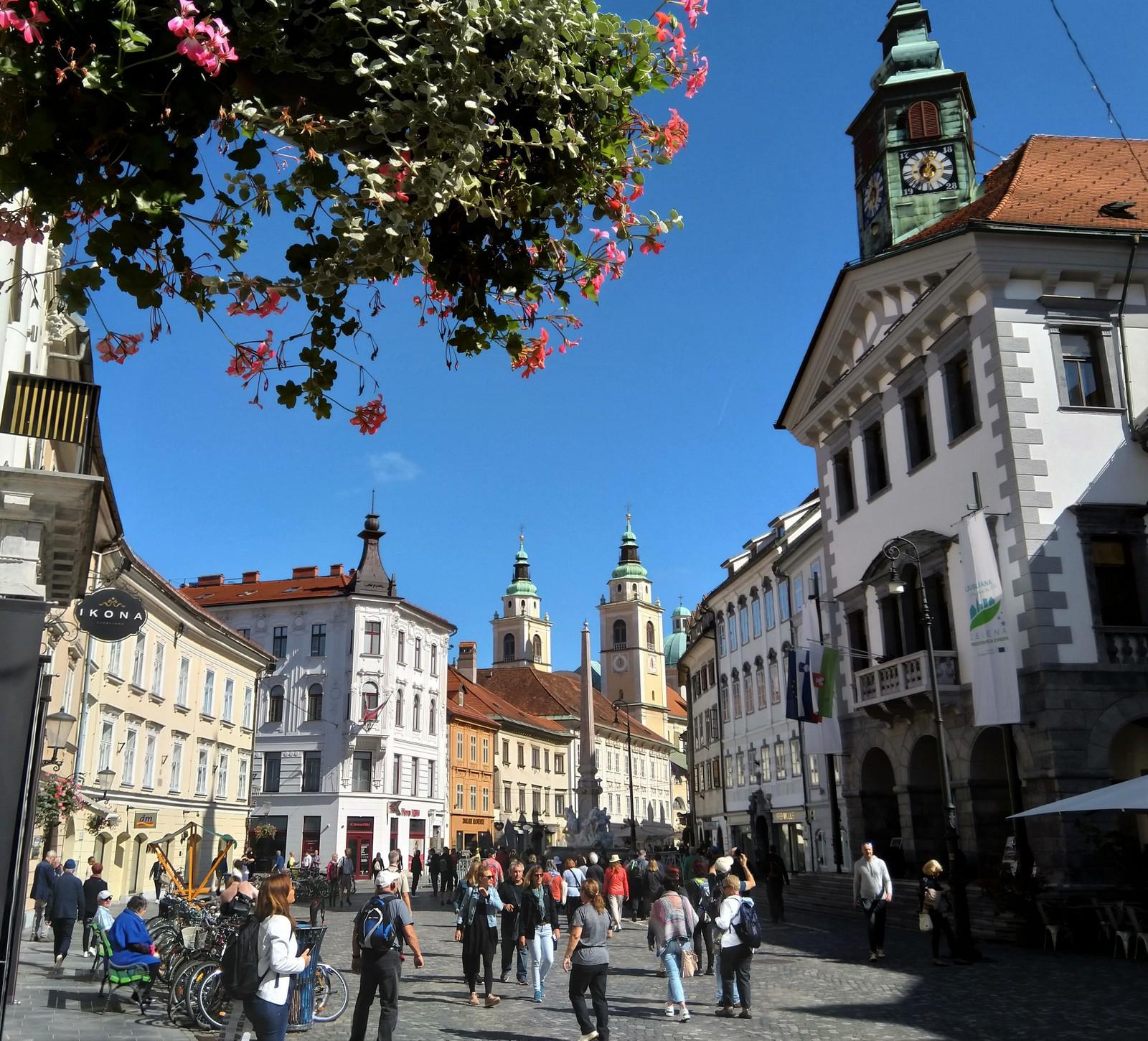Ljubljana - Rathausplatz