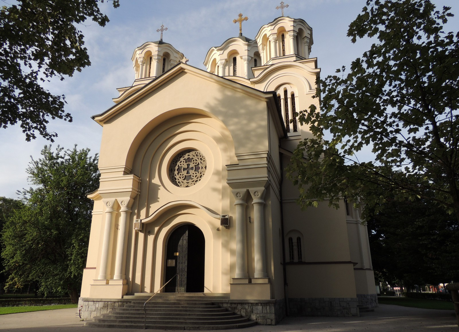 Ljubljana - Kirche der Heiligen Kyrill und Methodius