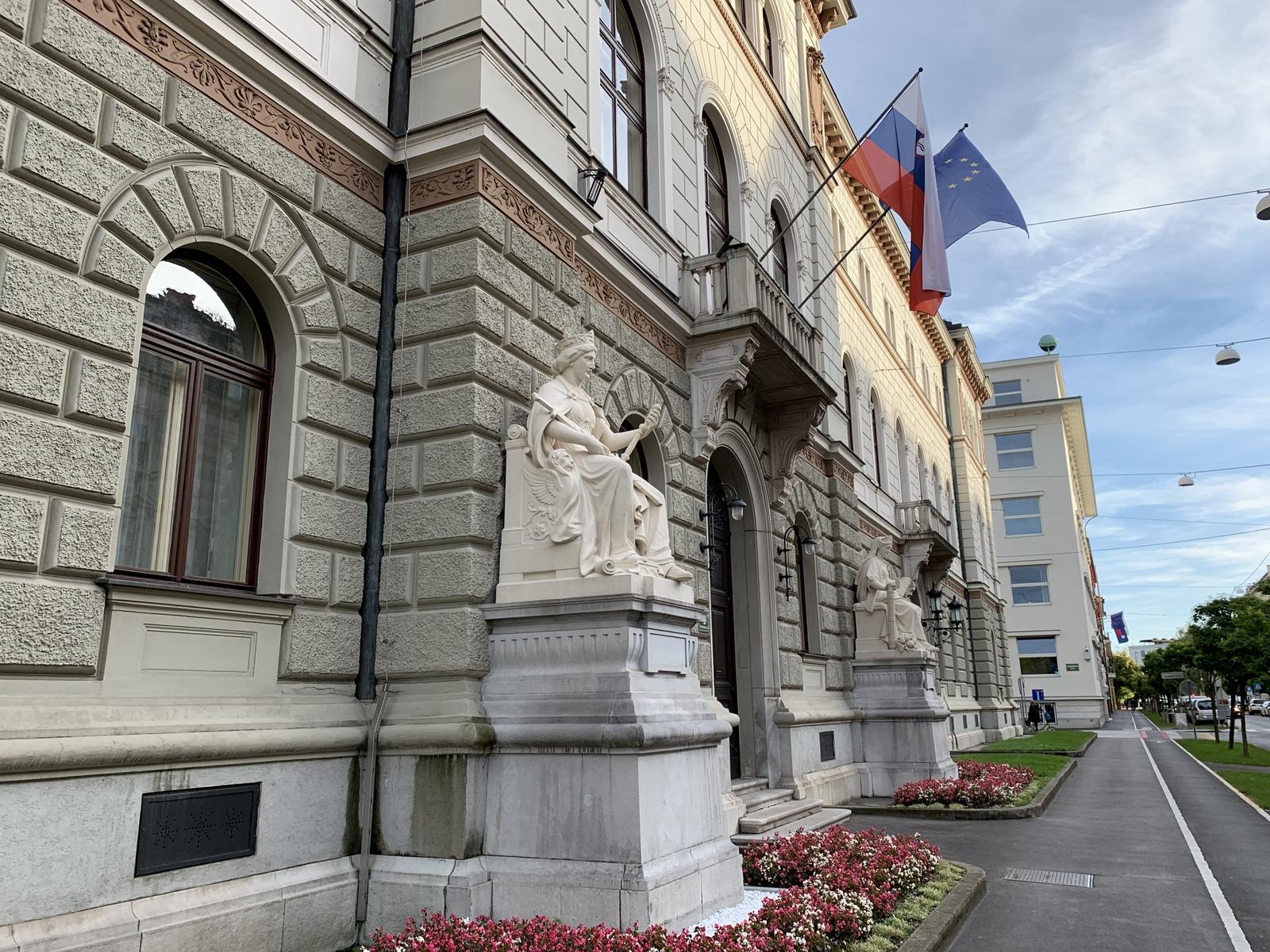 Ljubljana - Präsidentenpalast
