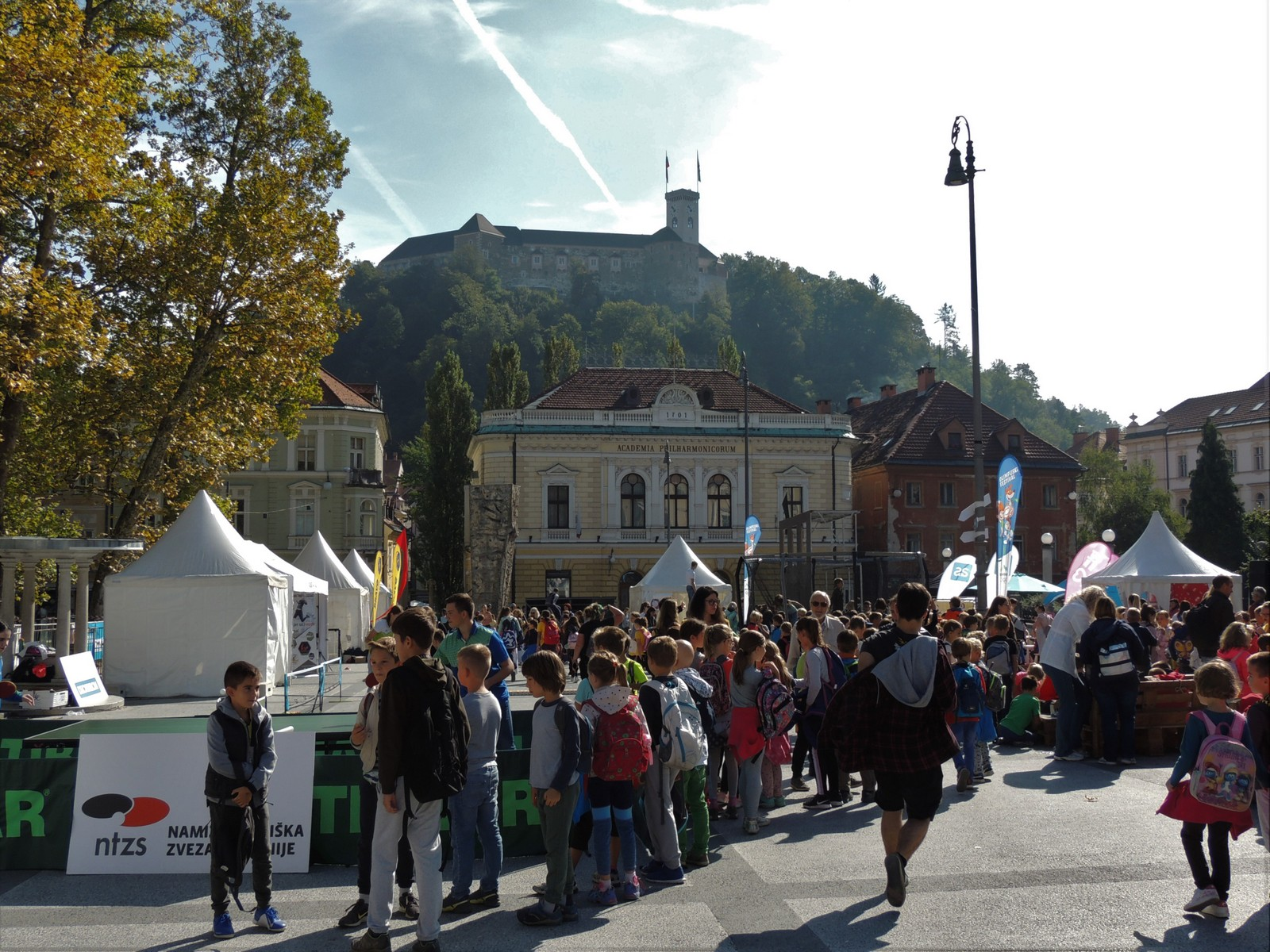 Kongressplatz von Ljubljana