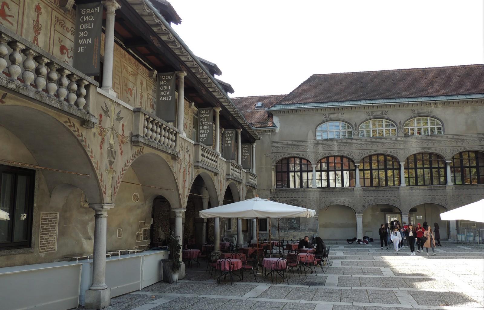 """Sommertheater """"Križanke"""" in Ljubljana"""