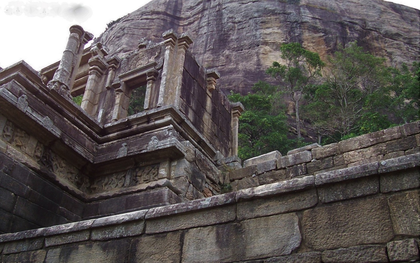 Felsenfestung Yapahuwa - Ceylon