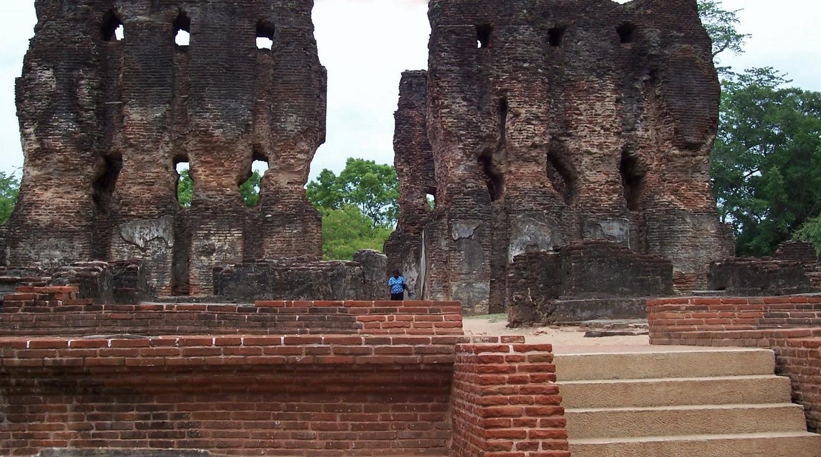 Königspalast Polonnaruwa - Ceylon