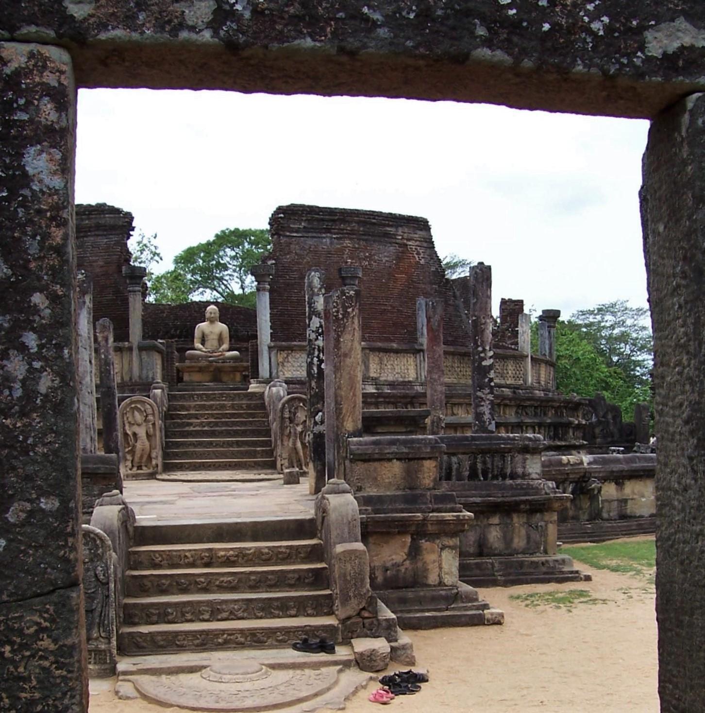 Reliquienhaus - Königsstadt Polonnaruwa - Ceylon