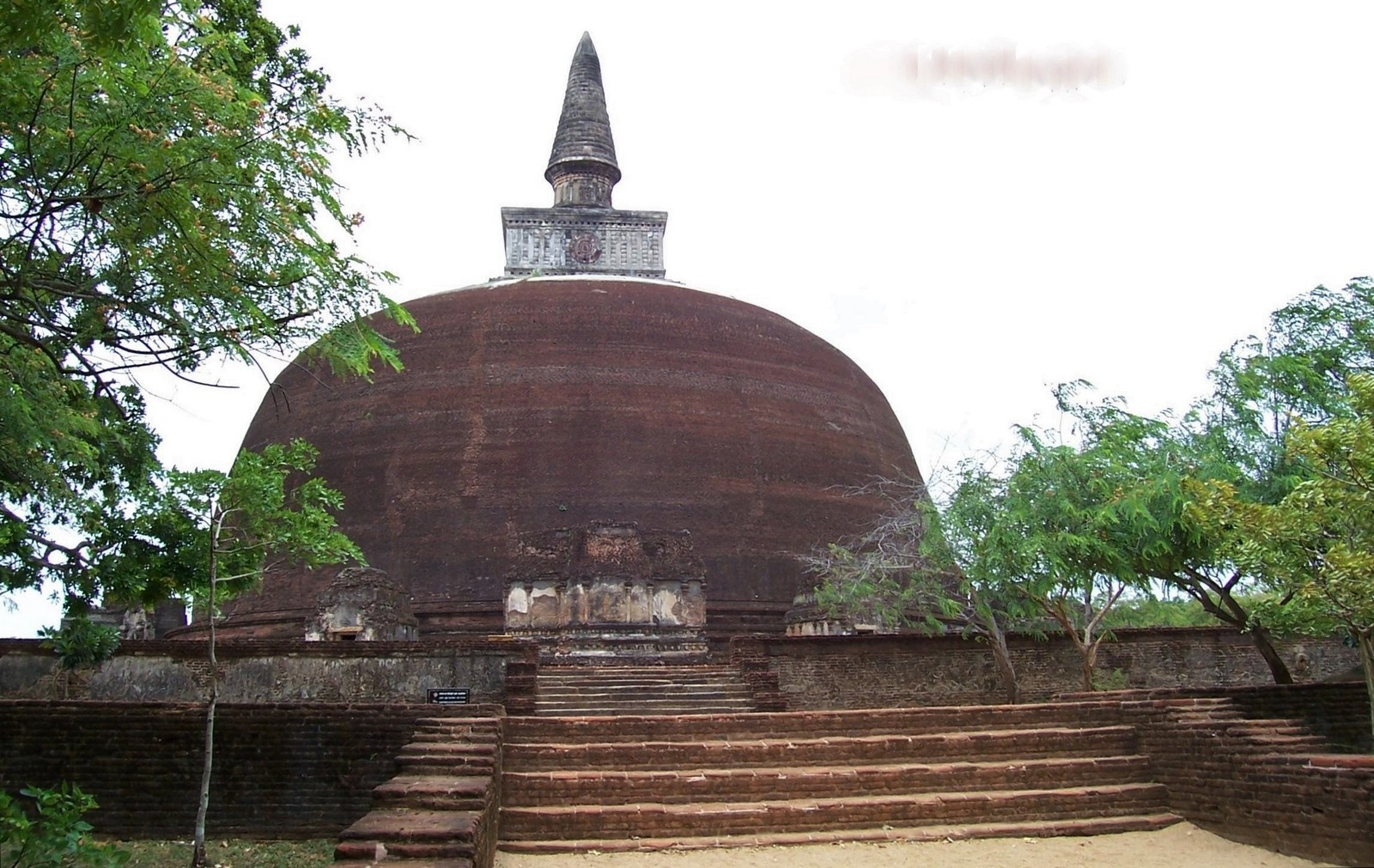 Dagoba - Königsstadt Polonnaruwa - Ceylon