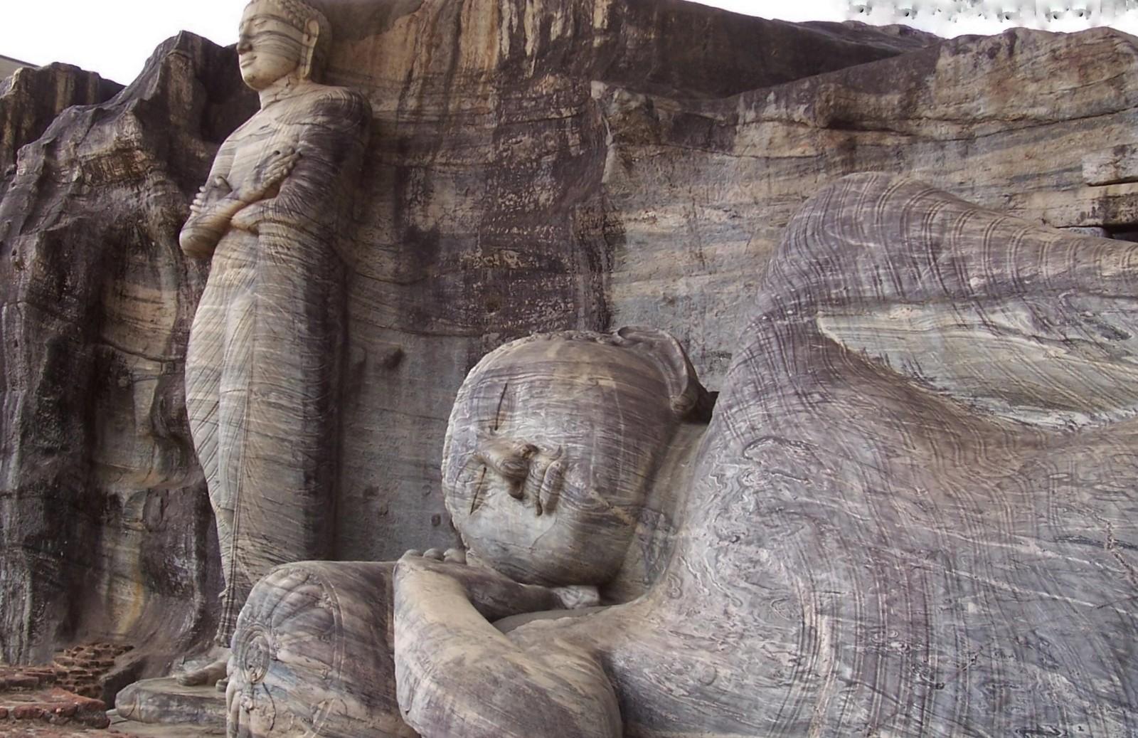 Gal Vihara - Königsstadt Polonnaruwa - Ceylon