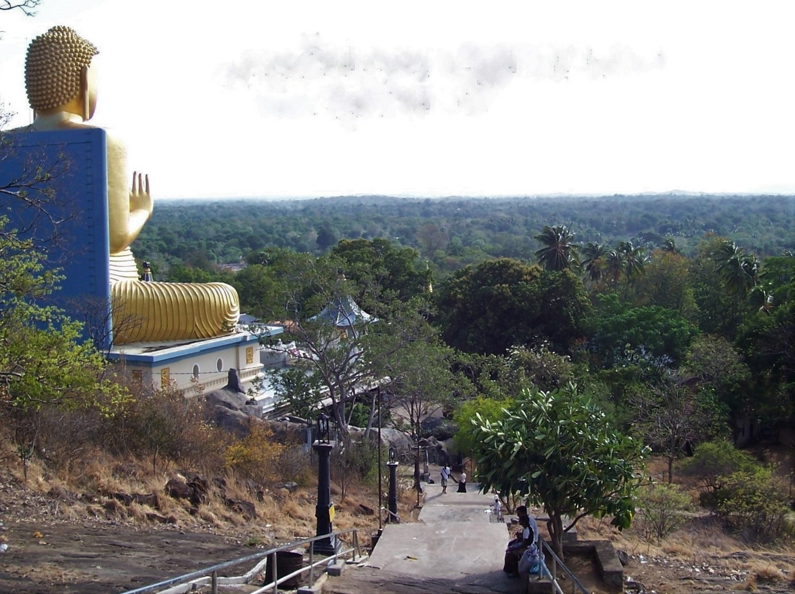 Goldener Tempel von Dambulla - Ceylon