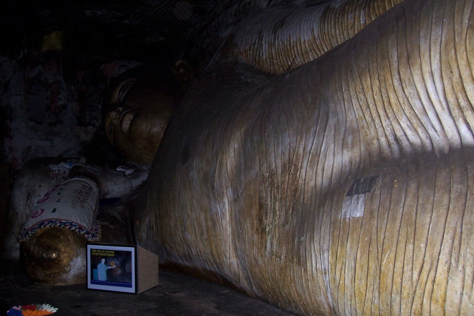 Höhlentempel von Dambulla - 1. Höhle