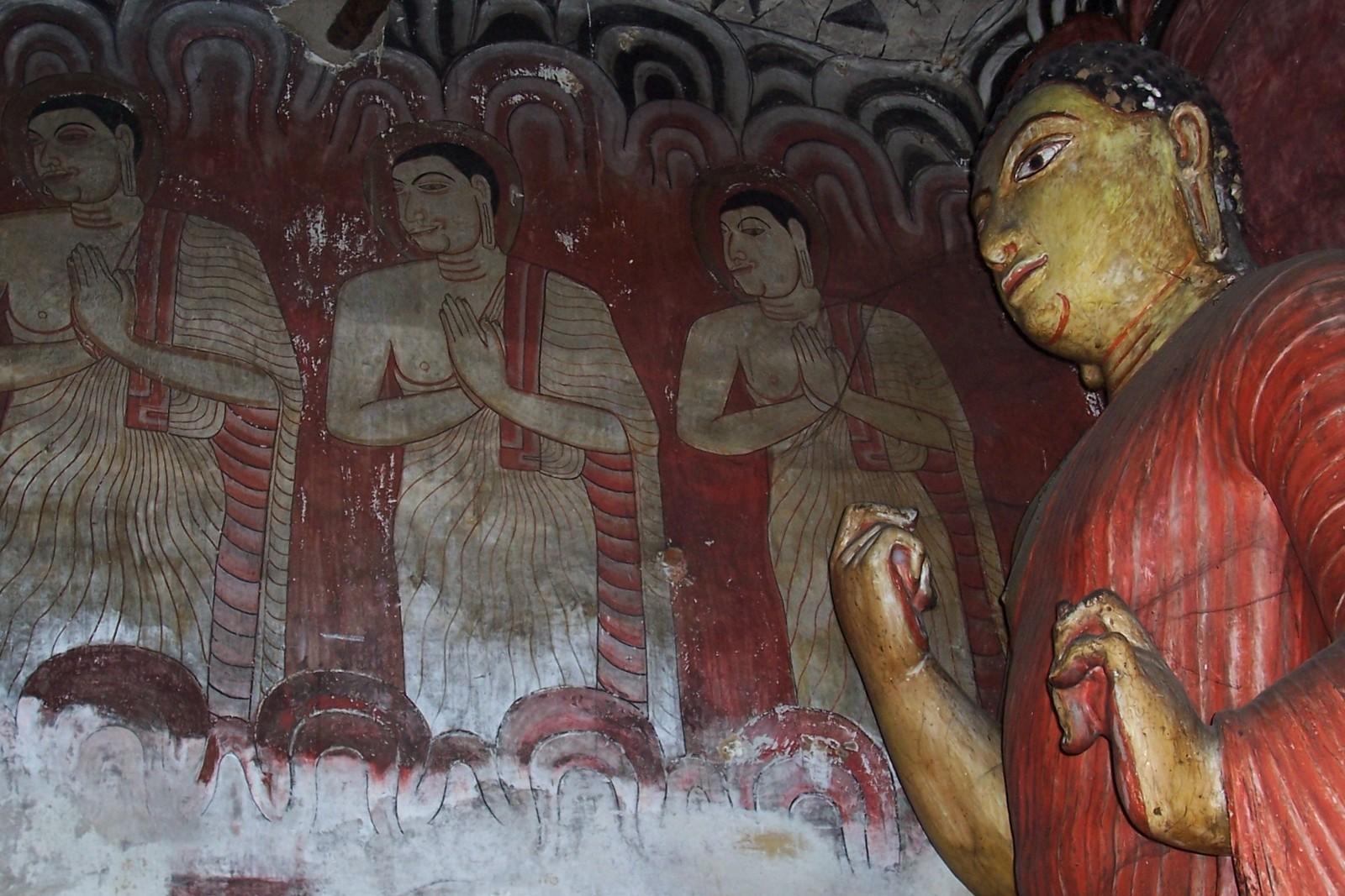 Höhlentempel von Dambulla - 2. Höhle