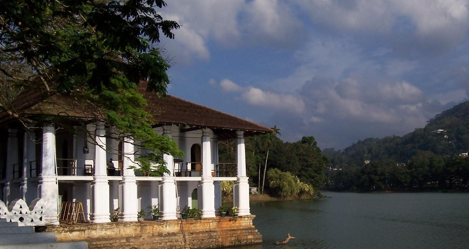 Badehaus der Königin - Kandy - Ceylon