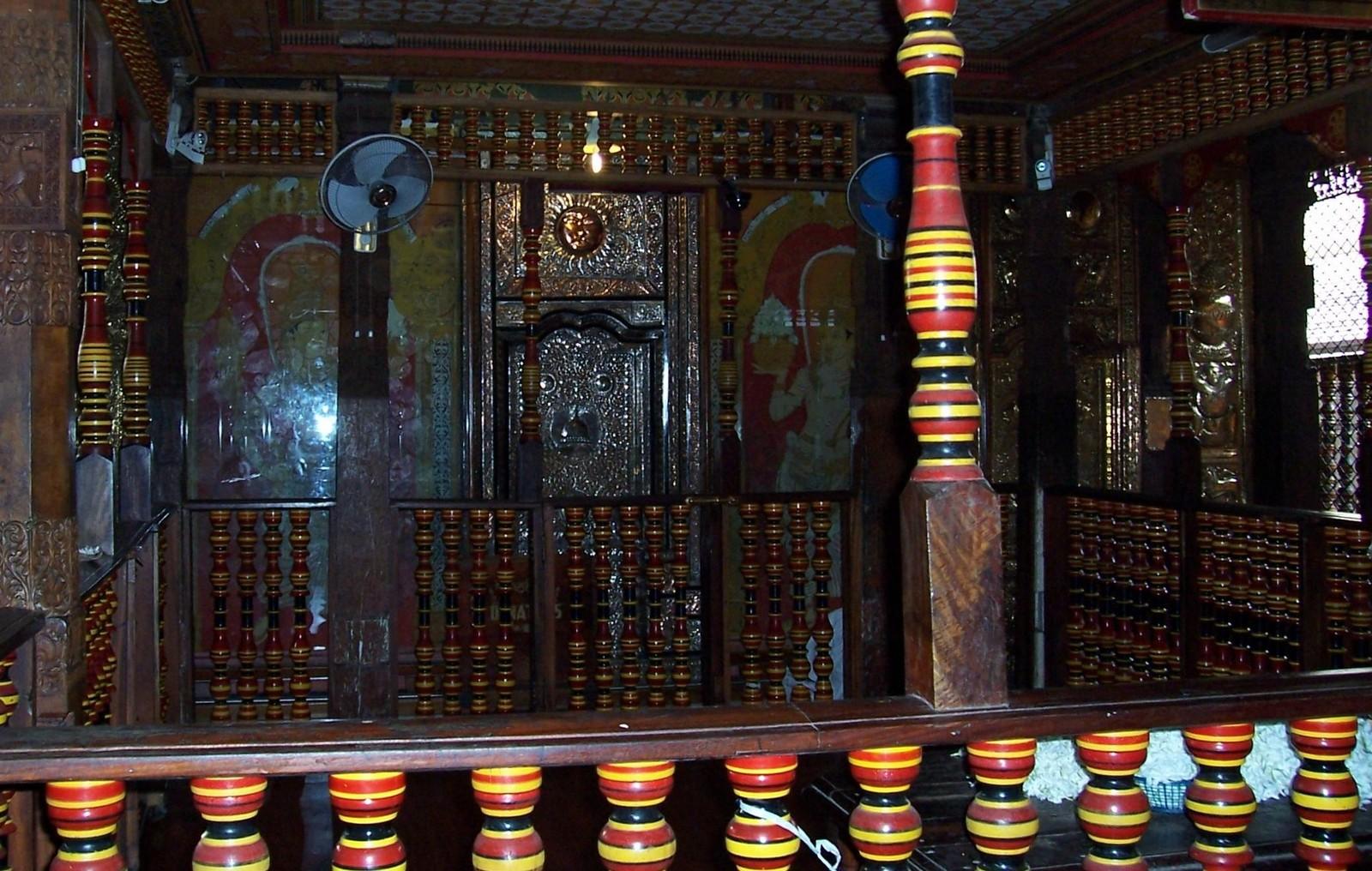 Goldener Schrein - Zahntempel - Kandy - Ceylon