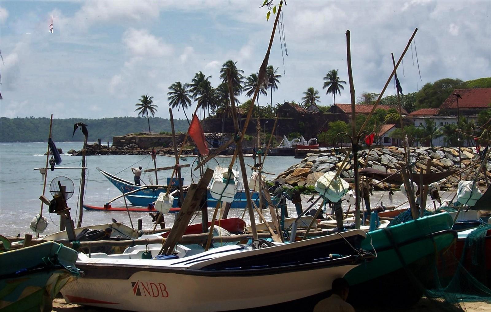 Galle - Fischerboote