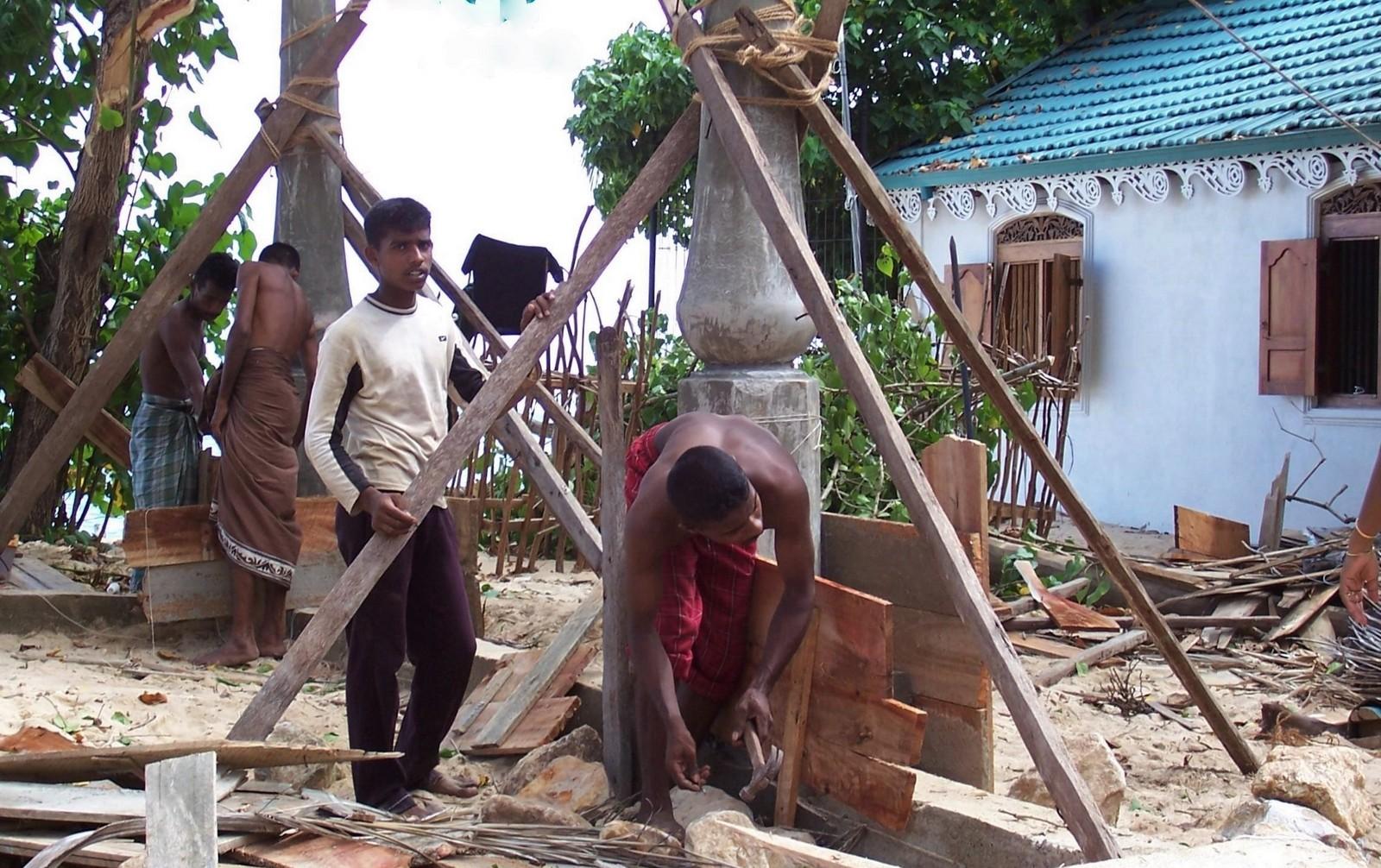 Bei Galle - Wiederaufbau nach dem Tsunami