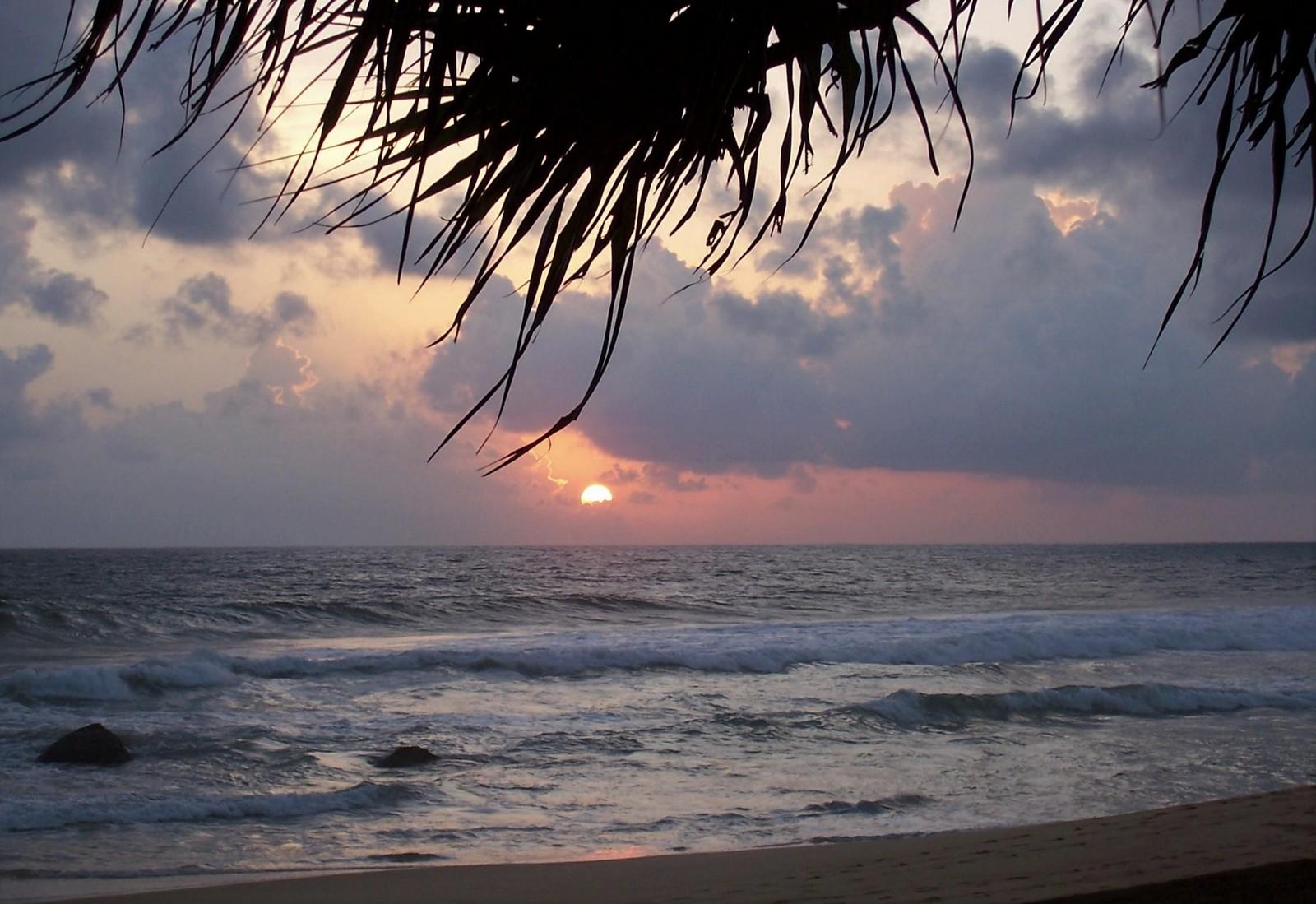 Orient Rest Guest House in Dodanduwa bei Galle - Sonnenuntergang