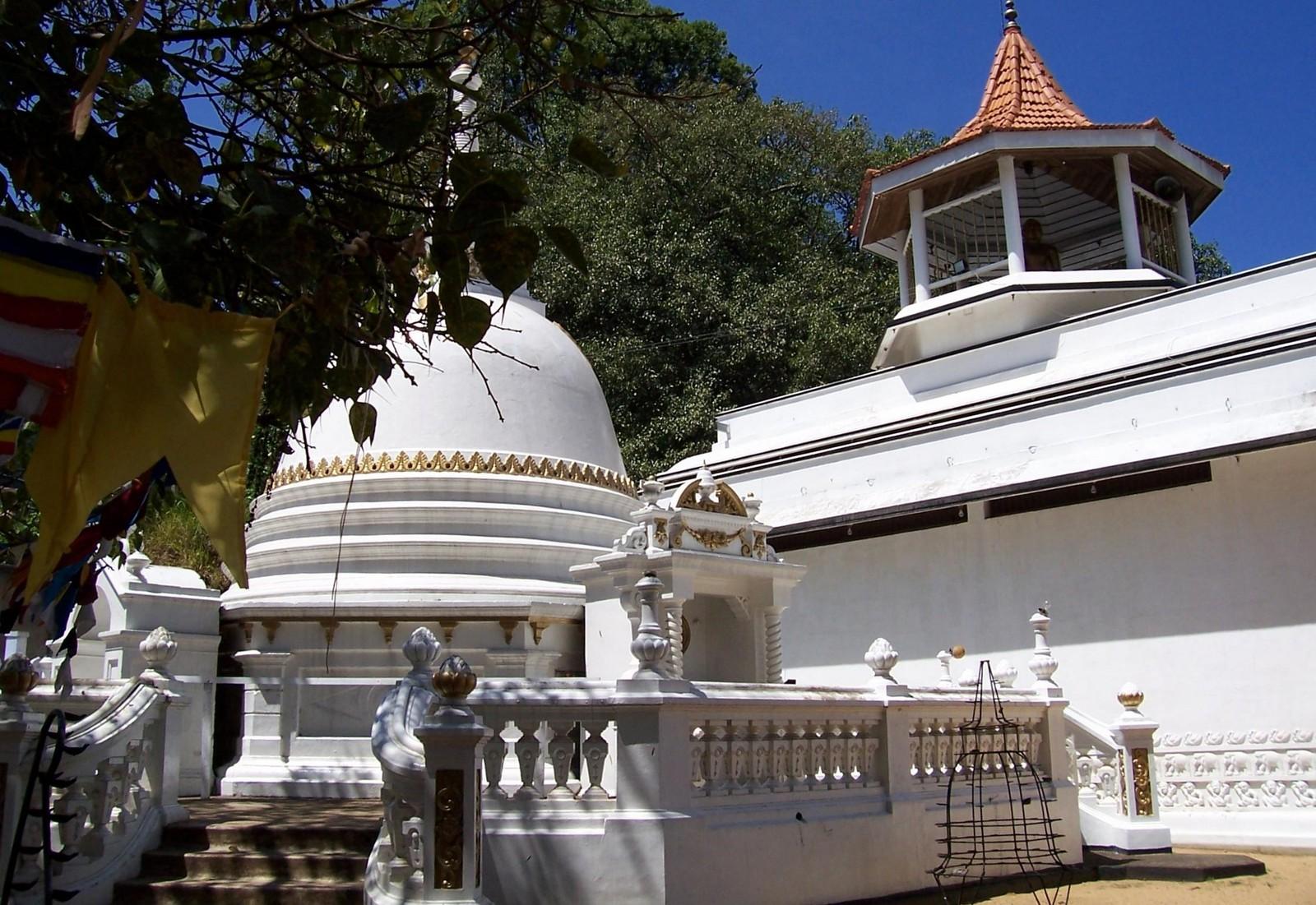 Tempel in Banderawela - Hochland von Ceylon