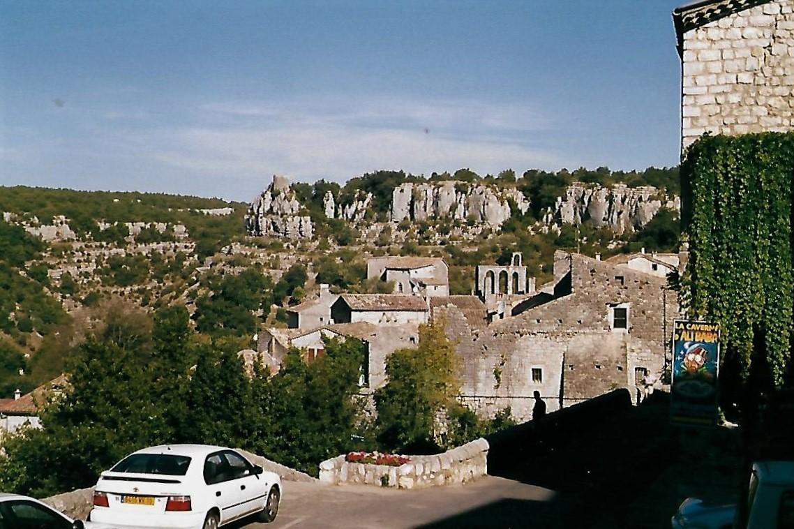 Balazuc an der Ardèche