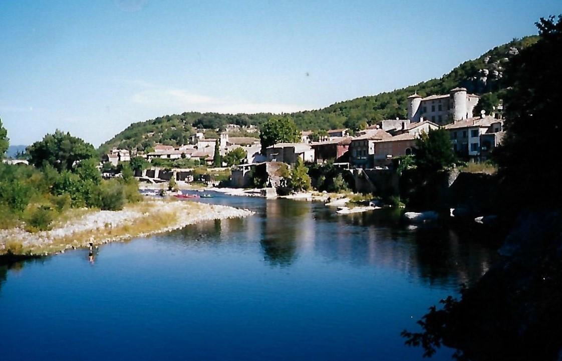 Vogüé an der Ardèche