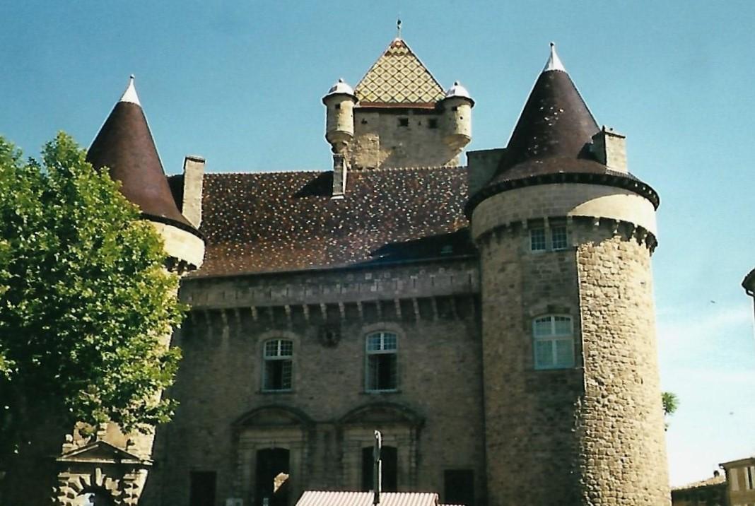 Schloss von Aubenas - Ardèche