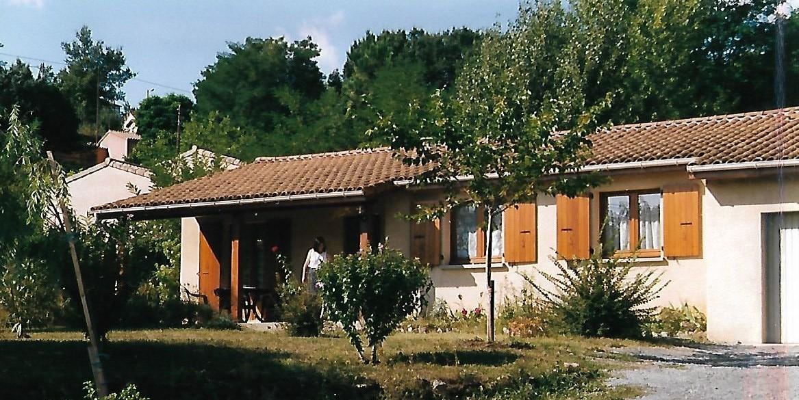 Unser Ferienhaus in Leganivay - Ardèche