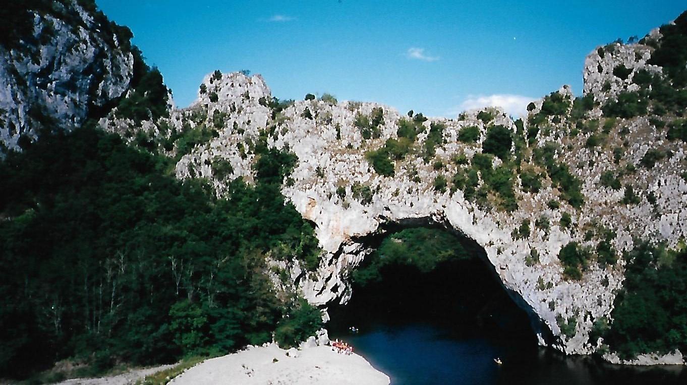 Gorges de l'Ardèche - Pont d`Arc