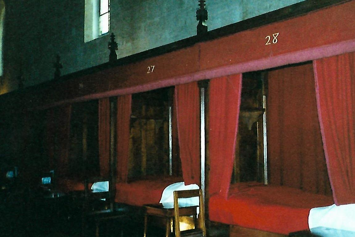 Armensaal - Hôtel-Dieu in Beaune