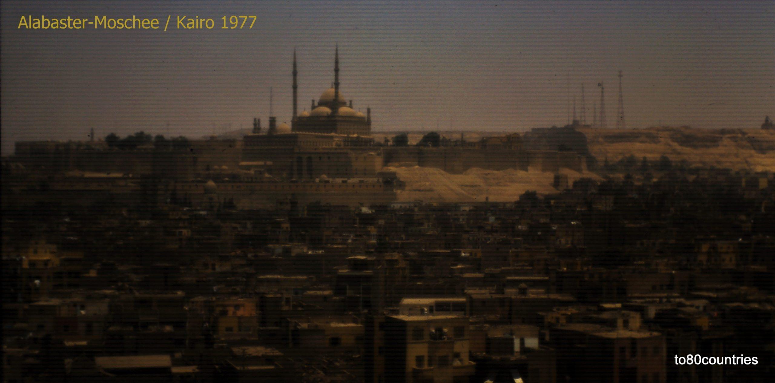 Zitadelle von Kairo mit Alabastermoschee