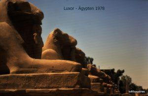 Luxor 1978 - Tempel von Karnak