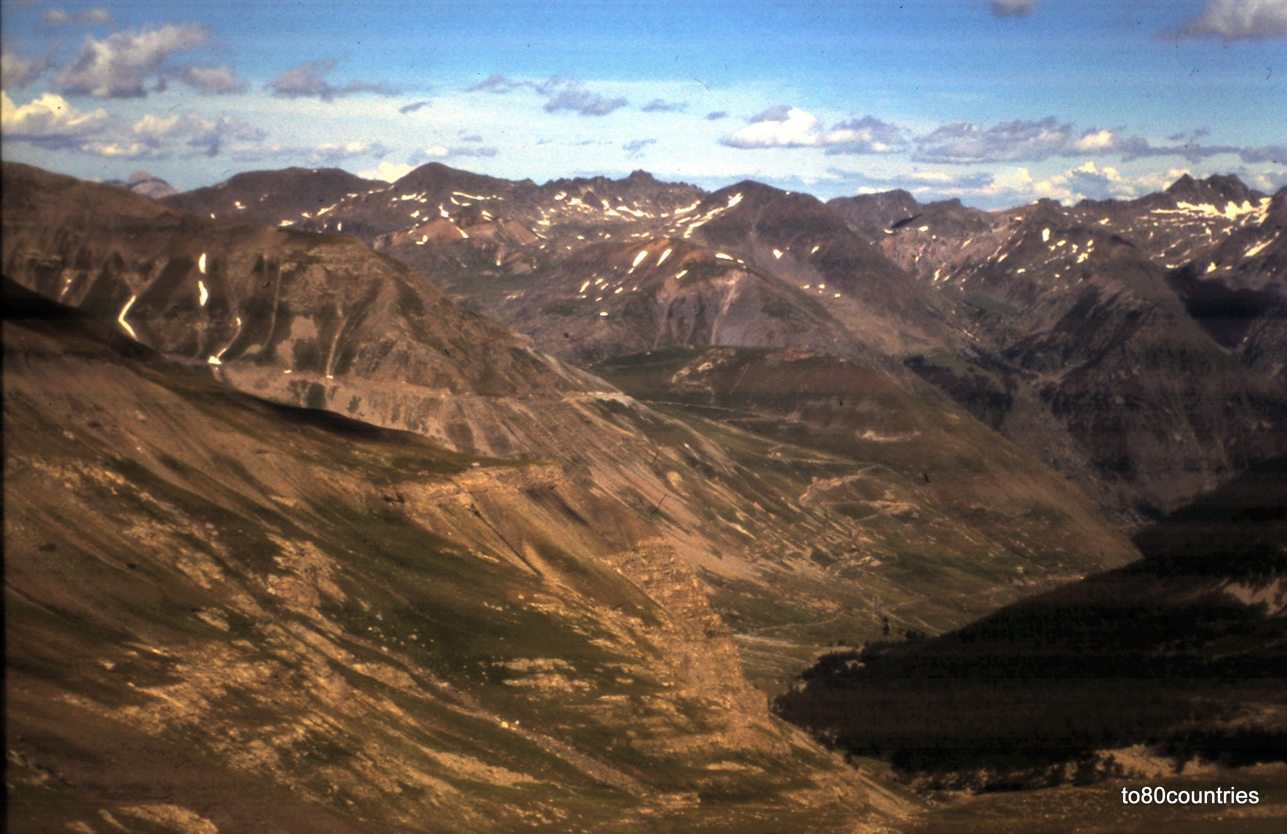 In den Seealpen - Route-des-Grandes-Alpes