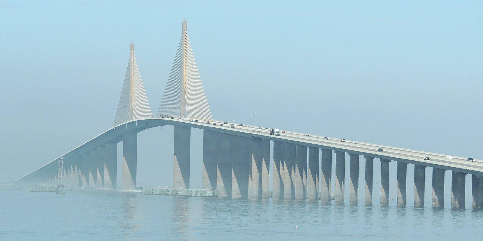 Skyway Sunshine Bridge Tampa Bay