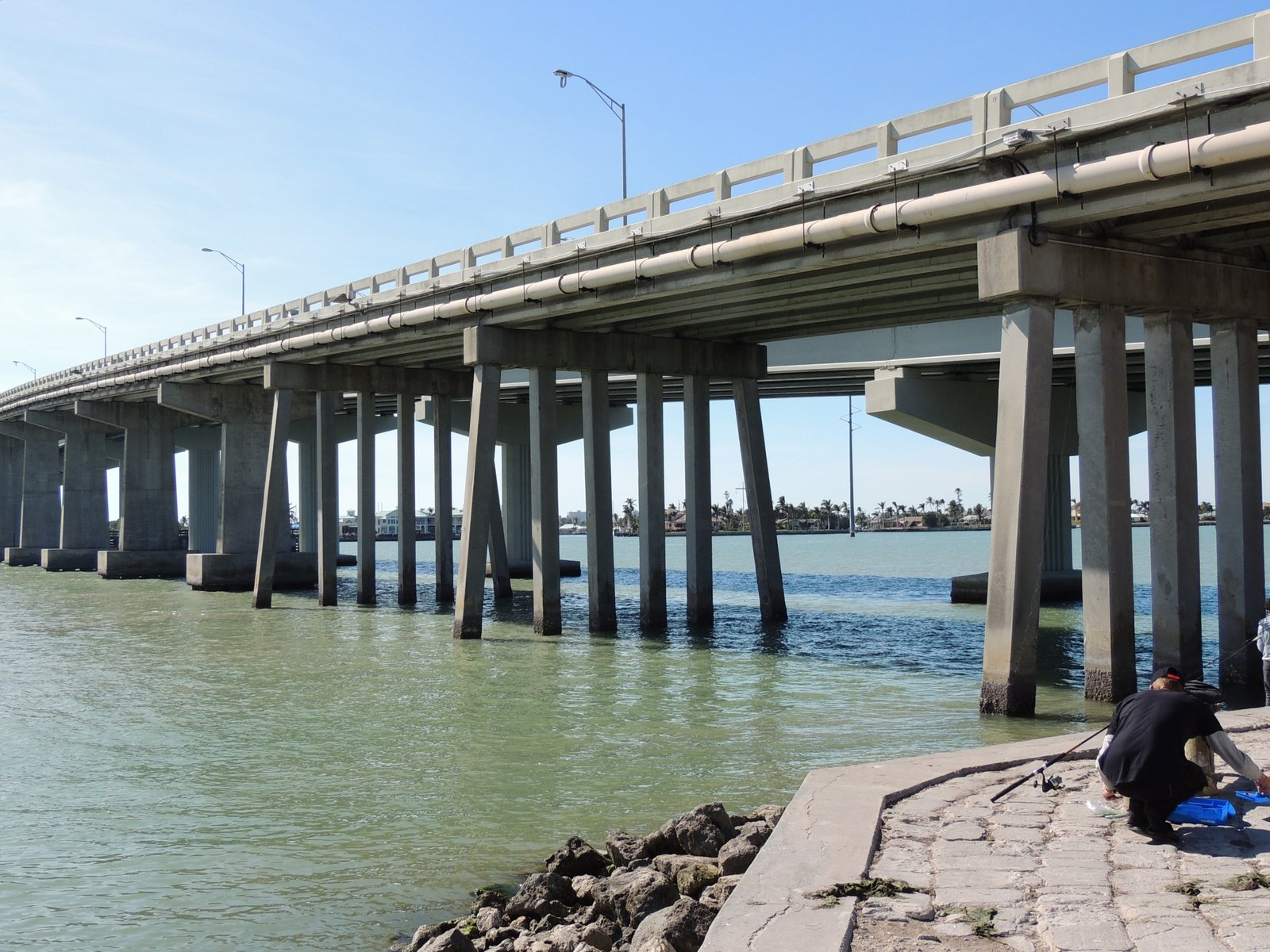 Brücke nach Marco Island Florida