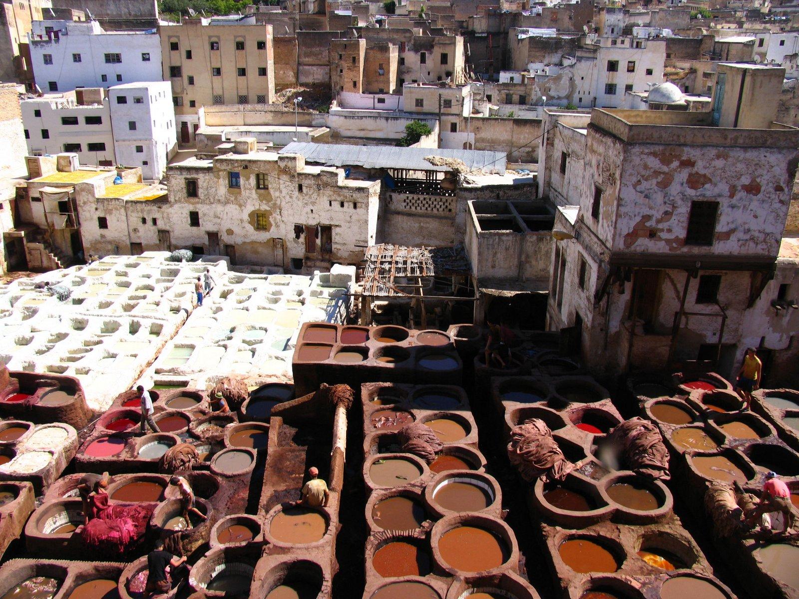 Färberviertel von Fes - Foto FVA Marokko