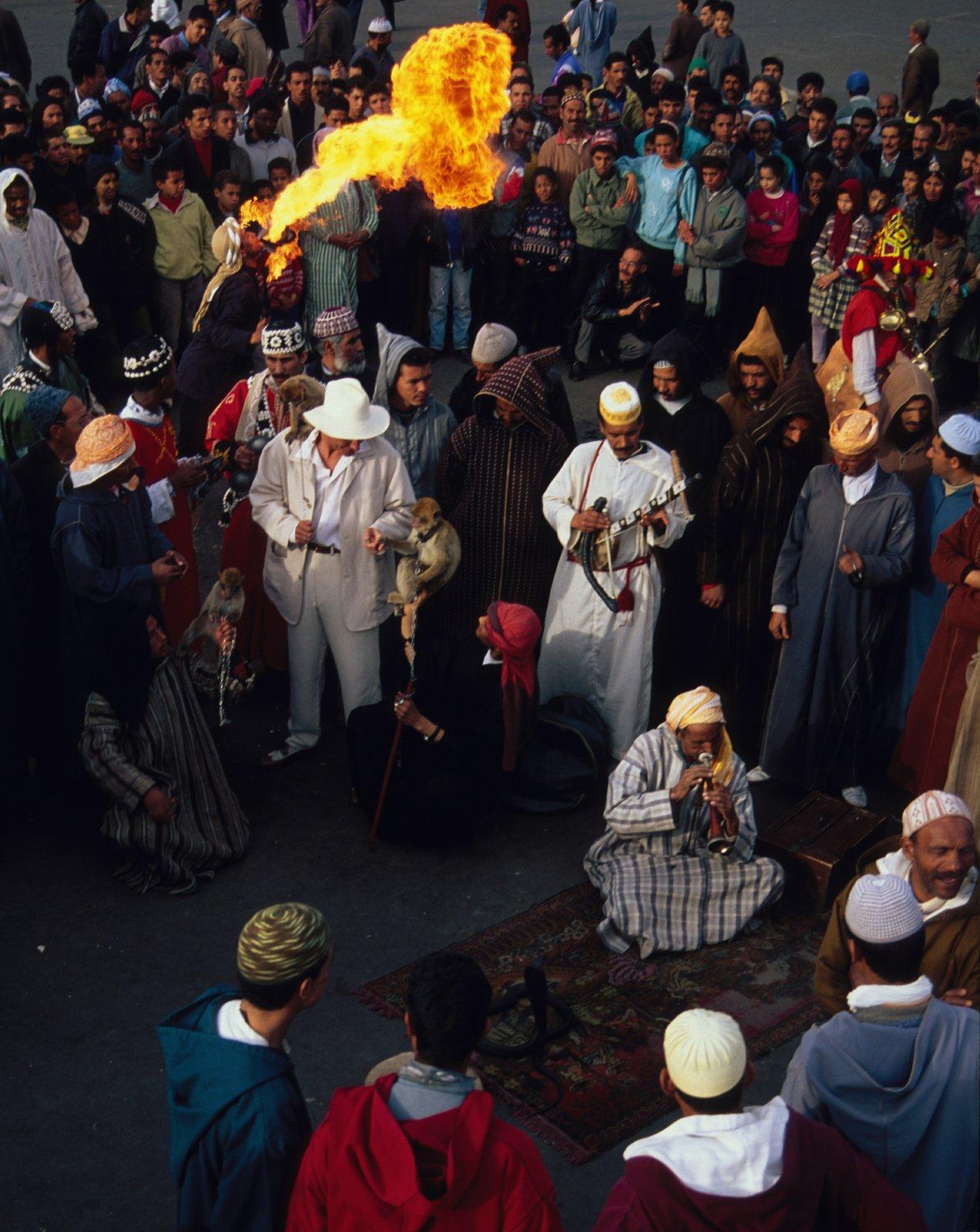 Djemaa El Fna - Foto FVA Marokko