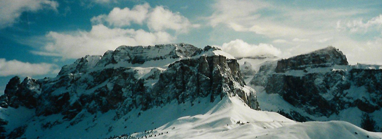 Skigebiet Sellajoch - Grödnertal