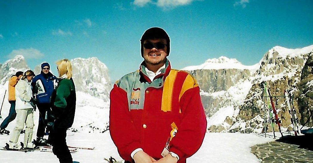 Im Skigebiet Grödnertal - Sellajoch - am Pordoijoch